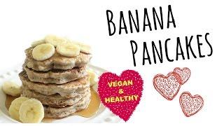 How To Make Fluffy Vegan Banana Pancakes