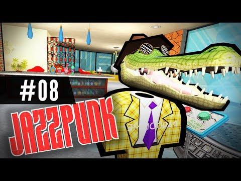 Let's Play JAZZPUNK - ENDING - Crocodile!