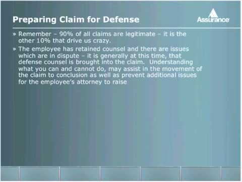 Advanced Workers Compensation Claims Management Techniques