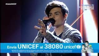 "Abraham Mateo canta ""Mi vecina"" | Gala Unicef 2016"
