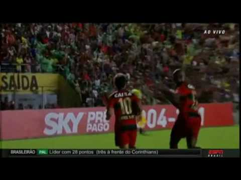 Gols - Sport 1 x 3 Palmeiras