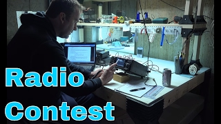 icom 7300   ham radio contest   mo qso party   ic 7300   video 1 of 3
