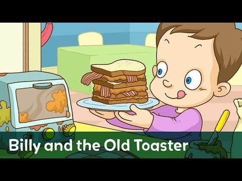 Story: Billy and the Old Toaster read by Sterling Beaumon for Speakaboos