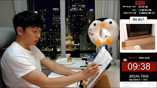 24/7/365 Study With Me - 10 minute break & 50 minutes study