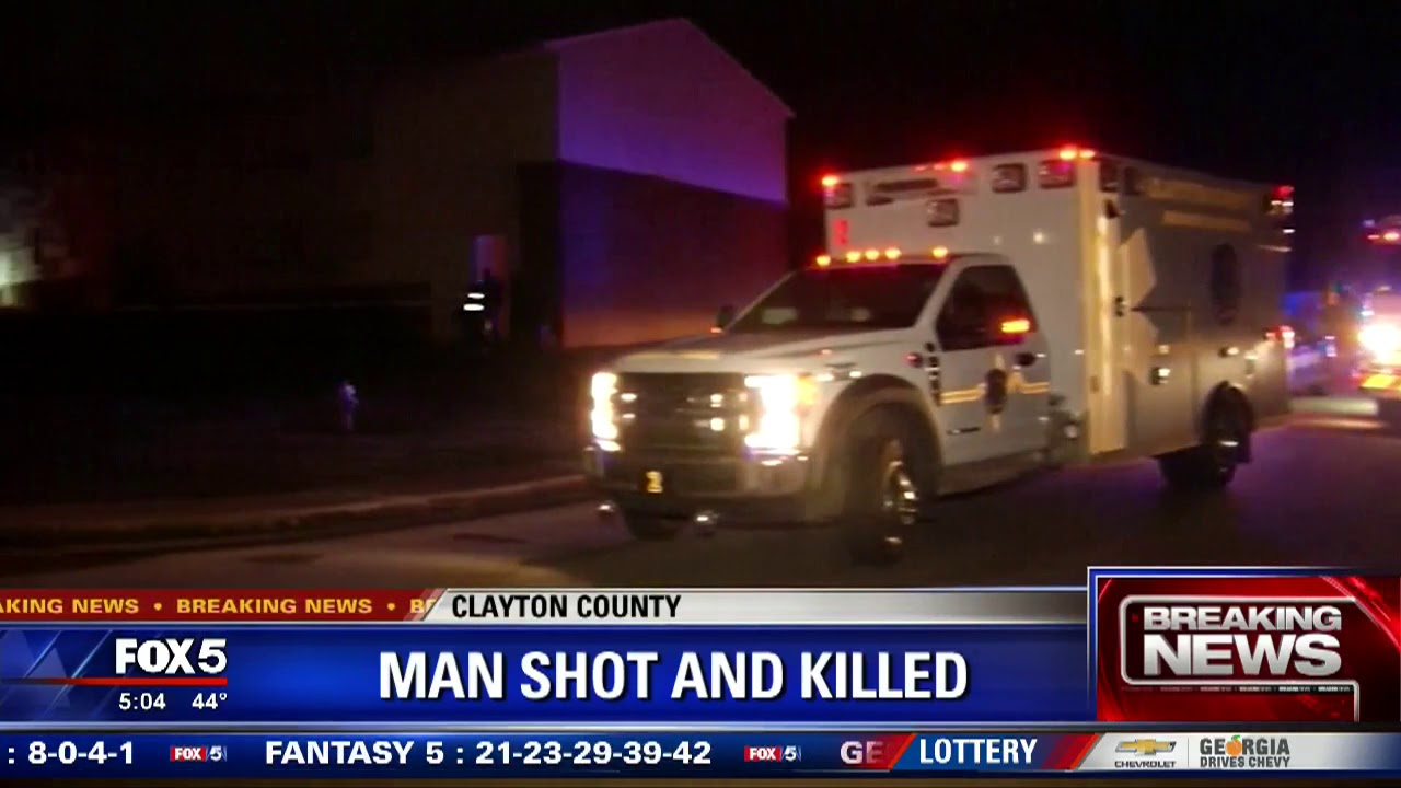 Man shot and killed in Clayton County