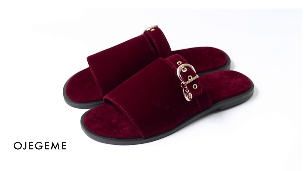 fashion palm slippers for men made by