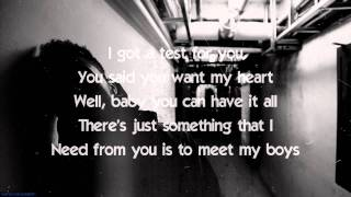 Host - The Weeknd Lyrics Onscreen