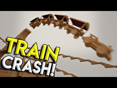 HUGE TRAIN JUMPS, CRASHES, & STUNTS! -  Tracks- The Train Set Game Gameplay - Winter Update