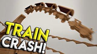 HUGE TRAIN JUMPS, CRASHES, & STUNTS! -  Tracks- The Train Set Game Gameplay - Winter Update