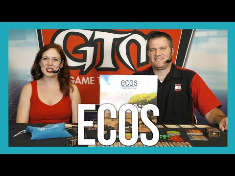 Ecos: First Continent By Alderac Entertainment Group At Alliance Open House 2019