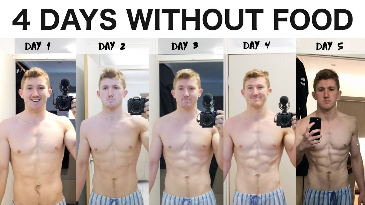 I didn't eat food for 4 days, here's what happened