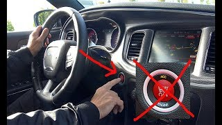 This happens if you push the button in the Hellcat! Dont do this!