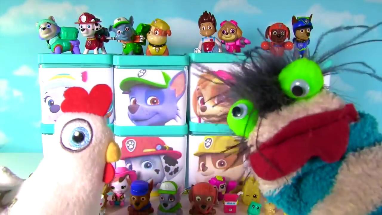 Huge Paw Patrol Surprise Blind Boxes Toy Show Shopkins