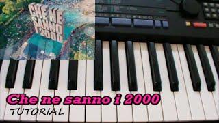 [ITA] Che ne sanno i 2000 (Gabry Ponte ft. Danti) Tutorial Piano