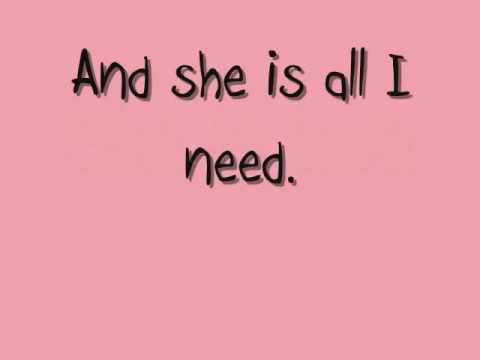 She Is Love - Parachute Lyrics On Screen