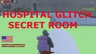 H1Z1- Hospital Glitch Secret Room - KotK - BR (11/26/2016)