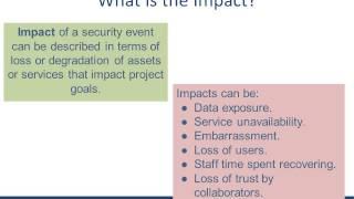 Risk Assessment: Impact Analysis