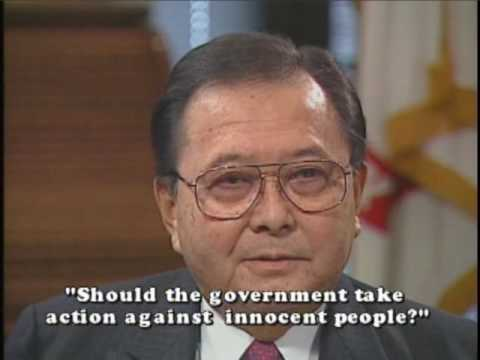 Senator Daniel Inouye on Rights and Government