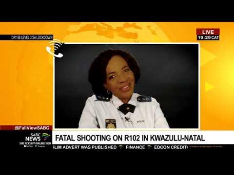 BREAKING NEWS   Fatal shooting on the R102 in KwaZulu-Natal