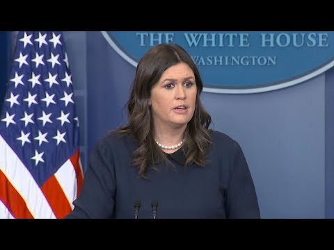 White House press briefing on  DACA, Trump's FISA tweets | ABC News