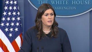 White House press briefing on  DACA, Trump's FISA tweets   ABC News