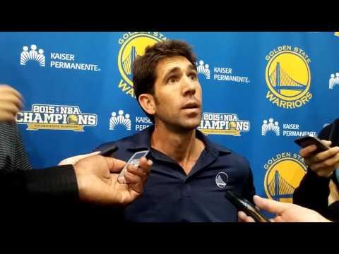 Bob Myers Jokes That The Warriors Like Coaches With No Experience (Luke Walton)