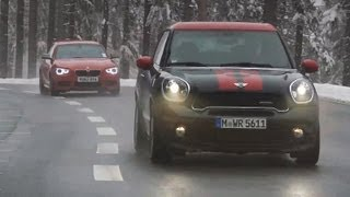Mini Paceman Jcw Vs Bmw M135i - Autocar.Co.Uk