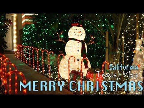 crazy christmas decorations san diego travel vlog - Christmas Decorations San Diego