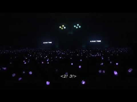 2! 3! (2016 Purple ocean project by Army and BTS reaction to it) @ 3rd Muster in Seoul 161113