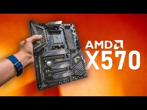 AMD Ryzen X570 Motherboards Look AMAZING!
