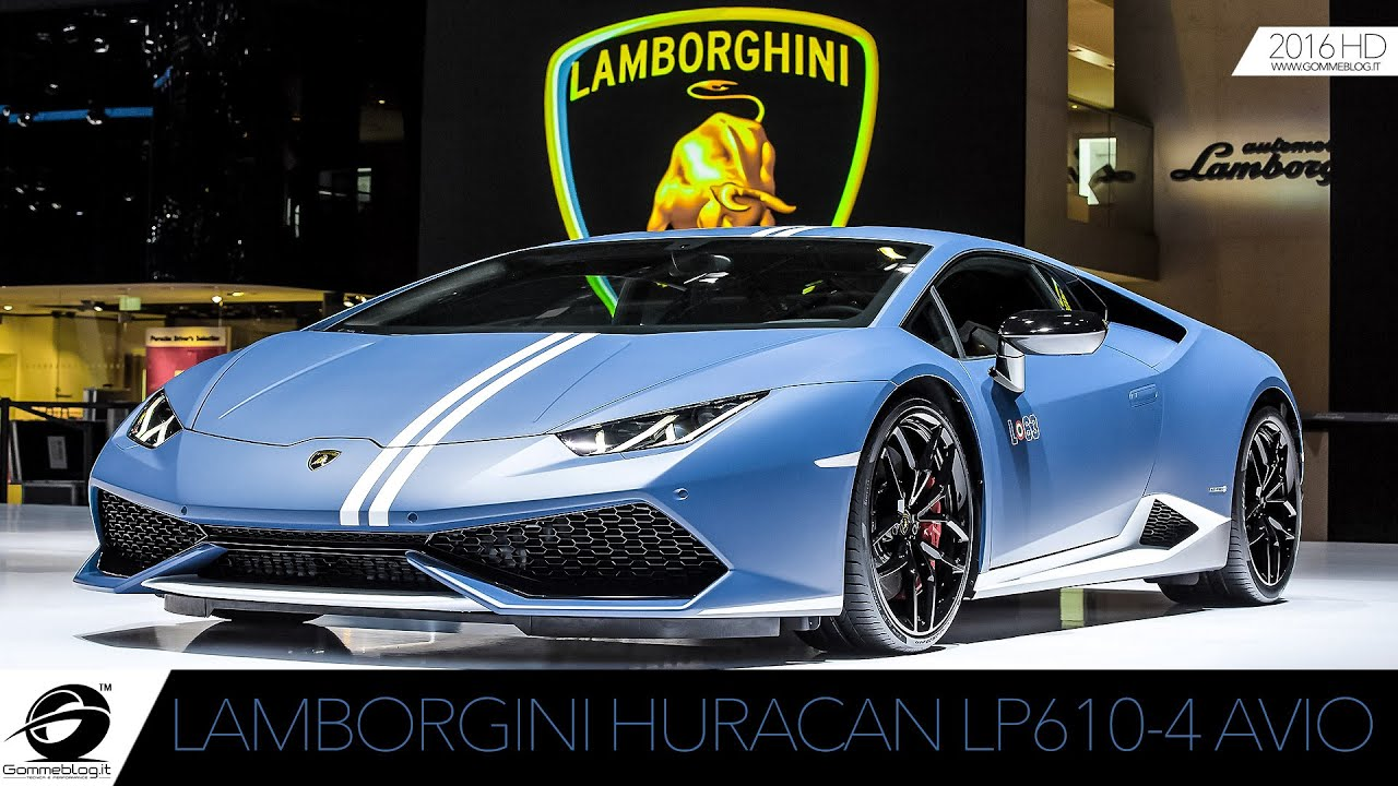 lamborghini huracan lp 610 4 avio limited edition youtube. Black Bedroom Furniture Sets. Home Design Ideas