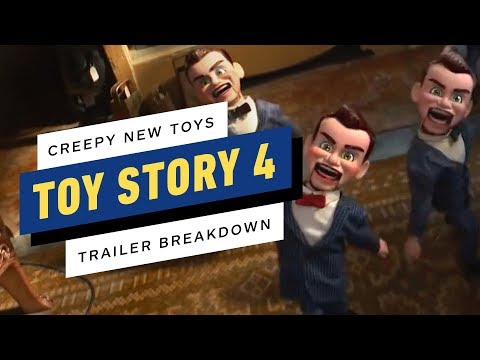 Toy Story 4: All the New Toys