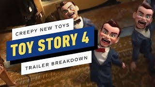 Toy Story 4: All the New Toys - Official Trailer Breakdown