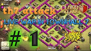 Clash of Clans | Th7  war attack live | GaminG With RoY