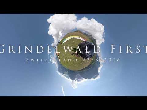 Grindelwald First Paragliding 23/08/18