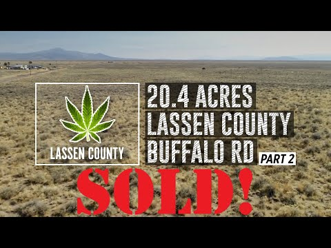 20.4 Acres Lassen County w/Power Line Access $10999!