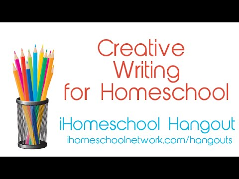 Teaching Creative Writing in your Homeschool