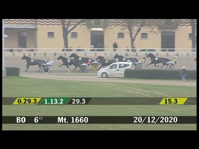 2020 12 20 | Corsa 6 | Metri 1660 | Gran Premio Italia - Maschi