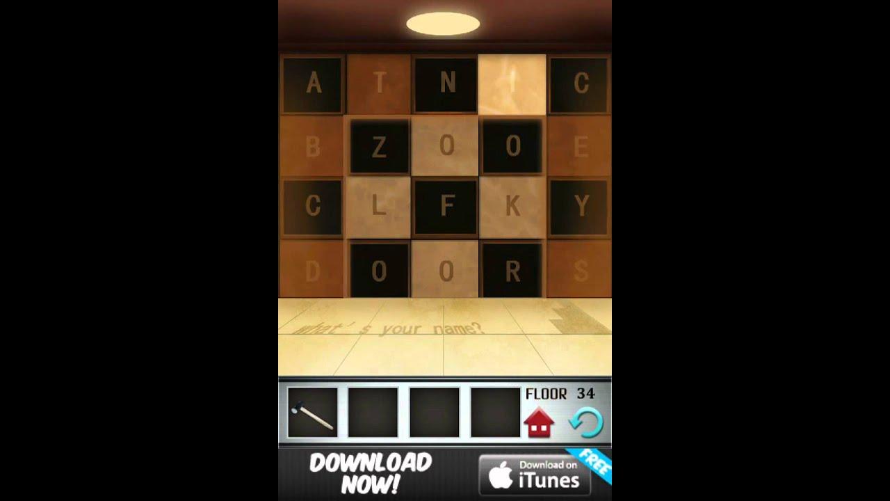 Floor 34 100 Floors Game Walkthrough Level Solution