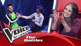 The Battles : Savindu Madusanka V Harshi Hewawitharana | Sihina Ahase Wasanthe | The Voice Sri Lanka Thumbnail