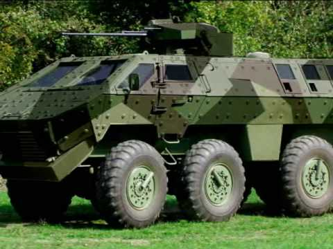 New-2009 Serbian Armoured fighting vehicle MRAP - Visenamensko Borbeno Oklopno Vozilo ''Lazar'' HD