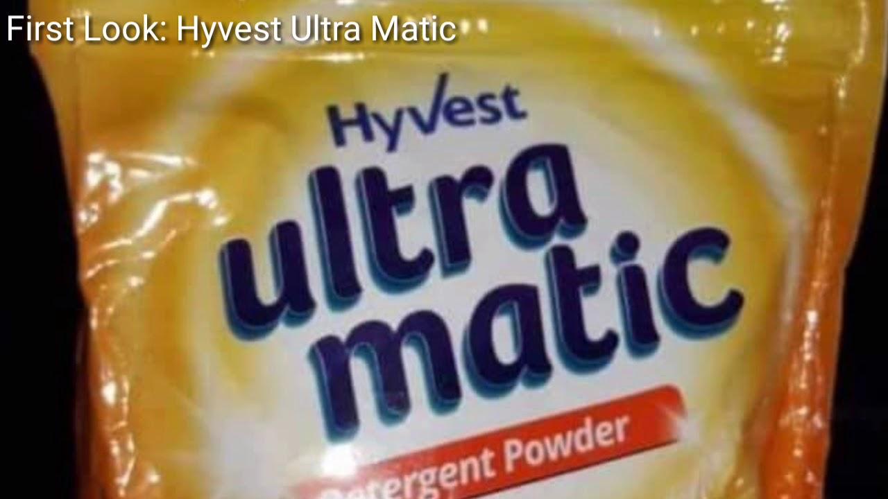 आ गया वेस्टीज का डिटर्जेंट पाउडर Hyvest Ultra Matic Vestige Detergent powder #1