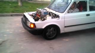 Fiat 147 Enfierrado hasta las muelas ! marcha atras primera