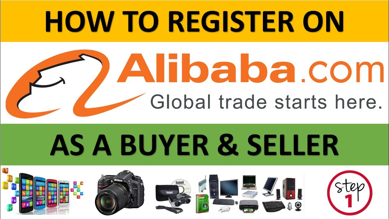 Download How To Register On Alibaba As A Buyer & Seller to Buy & Sell Products Globally  Step 1