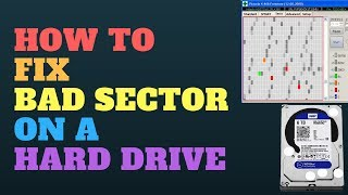 How to Fix A Bad Sector on a Hard Drive