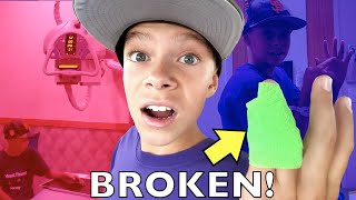 MY SISTER BROKE MY FINGER!!! Trip to the ER