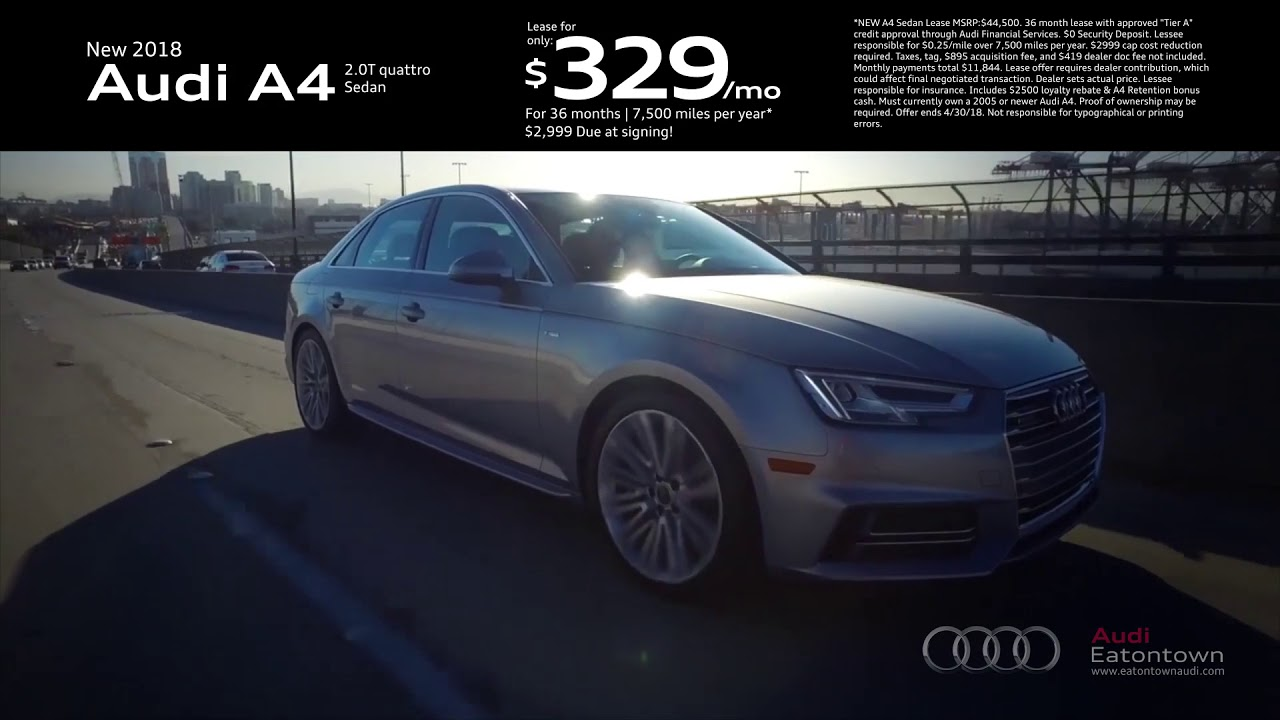 April Audi A Special YouTube - Audi eatontown