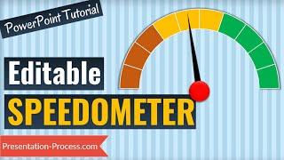 كيفية إنشاء مذهلة عداد السرعة قالب مخطط في PowerPoint