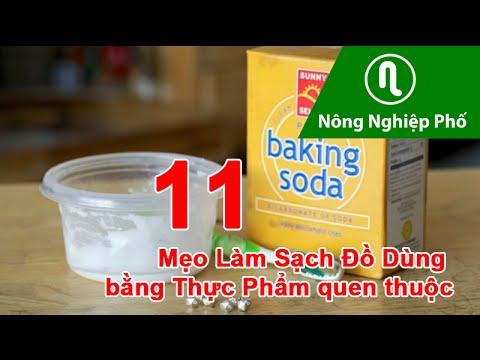 11 Mẹo làm sạch Đồ Dùng bằng Thực Phẩm quen thuộc