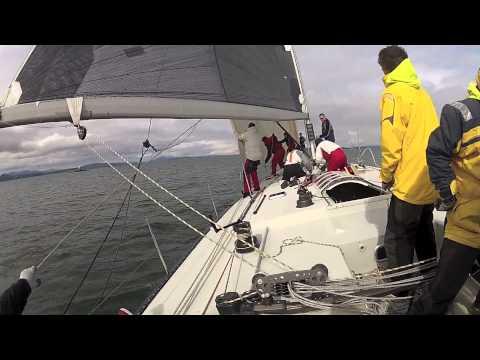Windward Leeward on a Santa Cruz 70